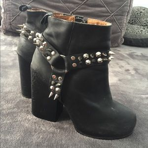 Jeffrey Campbell studded booties 7
